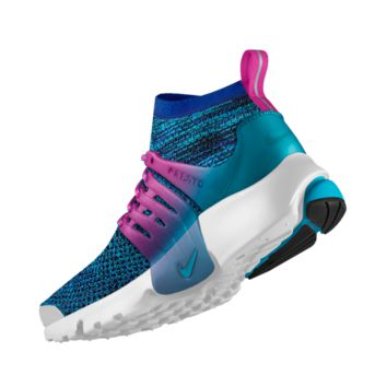 The Nike Air Presto Ultra Flyknit iD Shoe.