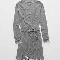 Aerie Sleep Robe , Dark Heather