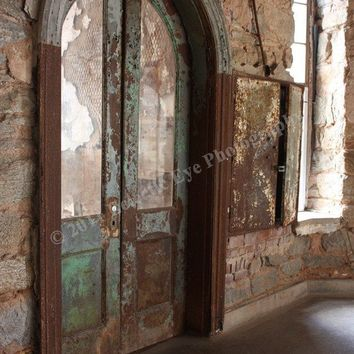 Eastern State Penitentiary Cellblock Door by EclecticEyePhotos