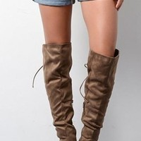 Forsett Knee High Boots
