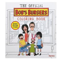 Bob's Burgers Official Coloring Book