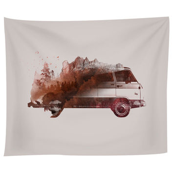 Drive Me Back Home Tapestry