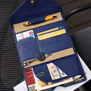 Best Multifunction Leather Passport & Wallet  Holder