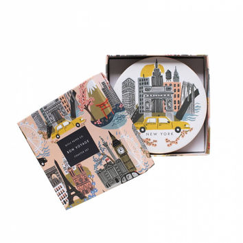 rifle paper co. | cities coaster set