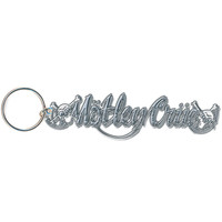 Motley Crue Dr. Feelgood Metal Key Chain Silver