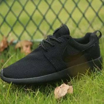 Women Nike Roshe One Shoes All Black