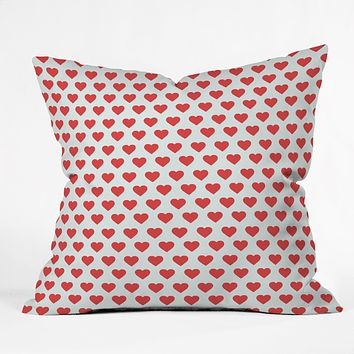 Allyson Johnson Hey Sweetheart Throw Pillow
