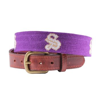 Sewanee Needlepoint Belt by Smathers & Branson