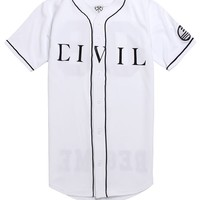 Civil Your Team Jersey - Mens Tee - White -