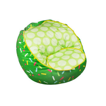 Komfy Kings, Inc 31507 Sprinkles Bean Chair Green