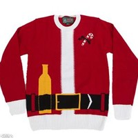 Unisex Ugly Christmas Sweater Santa Suit SYP4-010022B