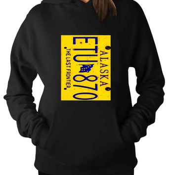 License plate Supernatural alaska For Man Hoodie and Woman Hoodie S / M / L / XL / 2XL*AP*