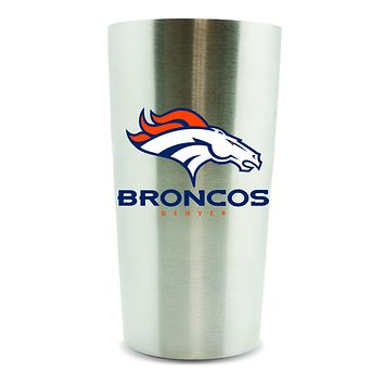 Denver Broncos Thermo Cup 14oz Stainless Steel Double Wall