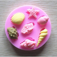 3D Cake Mold Animal Shell Fondant Chocolate Decor Mould Baking Silicone Tool C11