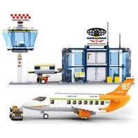 International Airport - LEGO Compatible Set