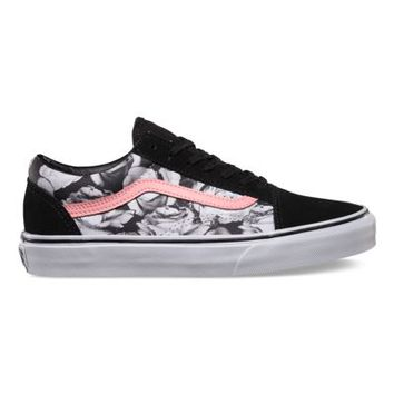 941947d017 Vans Digi Roses Old Skool (black true from Vans
