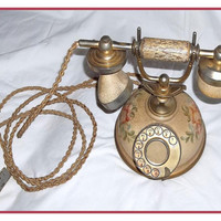 Vintage Decorator Telephone, Antique Style and Sound