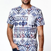 On The Byas Snow Cosmic Short Sleeve Crew T-Shirt - Mens Tee - Gray
