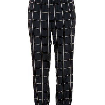 Checked Trousers - LANVIN