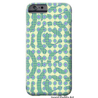 Dot and Circles, iPhone 6 Case, Artist, iPhone Case, Funky, Abstract, Art, iPhone 5 cases, by Ingrid Padilla, iPhone 6 plus case