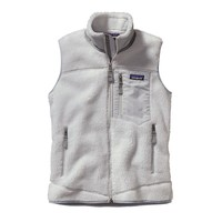 Patagonia Women's Classic Retro-X® Windproof Fleece Vest | Tailored Grey