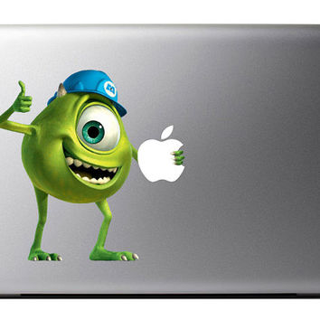 Monsters Inc Mike MacBook Decal Apple Mac Book iPad
