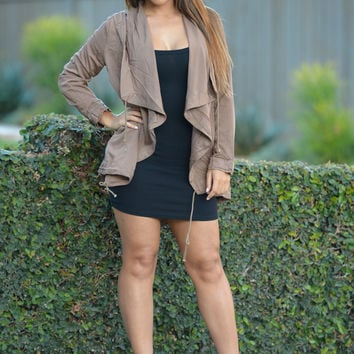 Private Eye Jacket - Taupe