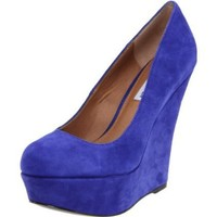 Steve Madden Women's Pammyy Wedge Pump - designer shoes, handbags, jewelry, watches, and fashion accessories | endless.com