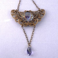 Undomiel filigree necklace Tolkien LOTR Lord of the Rings Inspired jewelry