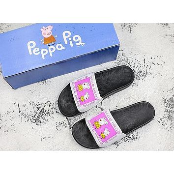 Peppa Pig Slipper X Gucci Slider Slippers