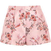 Stella McCartney - Floral-jacquard shorts