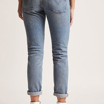 Levis 501 Ankle Jeans