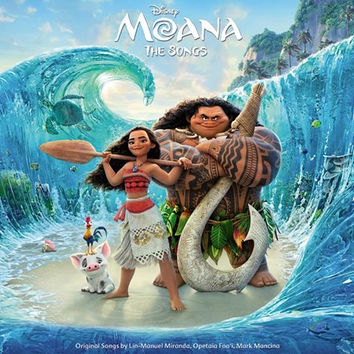 Moana Original Motion Picture Soundtrack LP