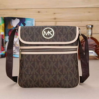 MK Women Shopping Bag Leather Satchel Crossbody Handbag Shoulder Bag