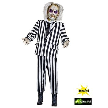 Life-Size Animated Beetlejuice Decoration