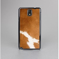 The Real Brown Cow Coat Texture Skin-Sert Case for the Samsung Galaxy Note 3