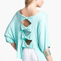 Haute Society Bow Back Top (Juniors) | Nordstrom