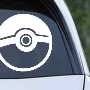 Pokemon Pokeball Die Cut Vinyl Decal Sticker