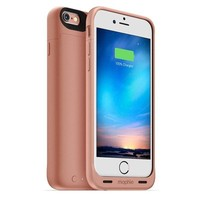 Rose Gold iPhone 6/6S Charging Case by Mophie