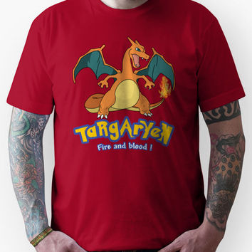 Targaryen Charizard Game of Thrones Unisex T-Shirt