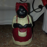 Vintage Aunt Jemima Cast Iron Bank, Old Cast Iron Bank