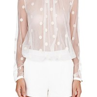 sass & bide | the ornament - ivory | shorts |