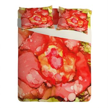 Rosie Brown Kiss From A Rose Sheet Set Lightweight