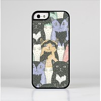 The Vintage Cat portrait Skin-Sert Case for the Apple iPhone 5/5s