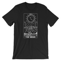 The Moon Tarot T-Shirt Black