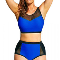 Indigo Scuba Sweetheart Swimsuit Plus Size Bikini