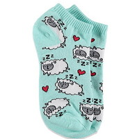 Sleeping Sheep Ankle Socks