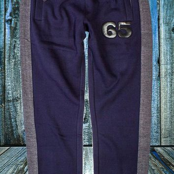 Men's Dress Sweat Pant In Navy