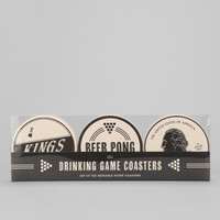 Drinking Game Coaster - Set Of 6 - Urban Outfitters