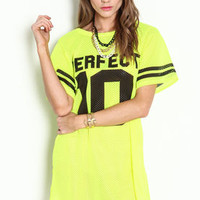 Perfect 10 Sports Jersey Dress - LoveCulture